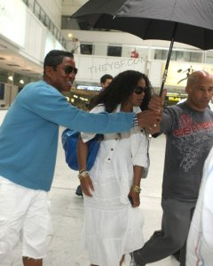 Janet and Jermaine Jackson