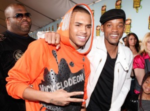 Chris Brown and Will Smith