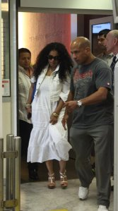 Janet at Airport in Nice, France