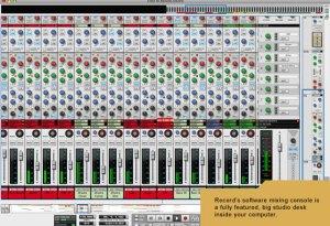 Record Mixer Slider