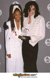 Janet and Michael Jackson