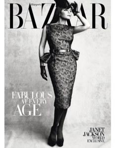 Janet Jackson Bazaar Cover