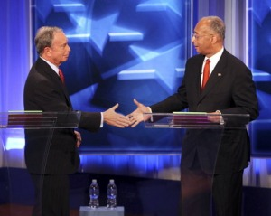 Bloomberg & Thompson at Debate