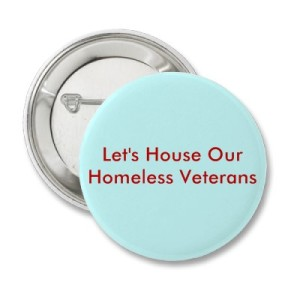 Homeless Veterans Button