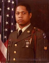 Frank Paul Jones as a solider